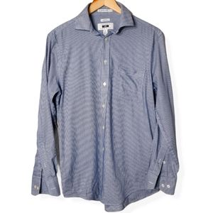 Joseph Abboud non iron slim fit check dress shirt
